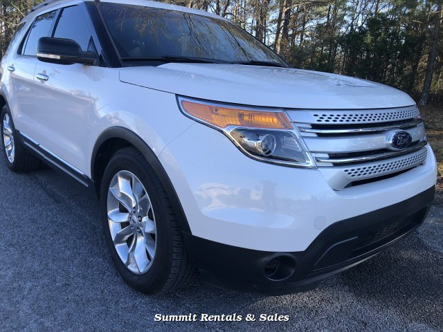 2014 Ford Explorer XLT FWD 6-Speed Automatic
